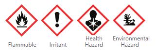 Hazardous Safety Lable